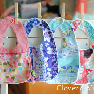 Absorbent Baby Bib Tutorial