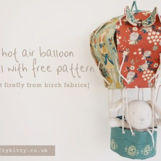 Fabric Hot Air Balloon