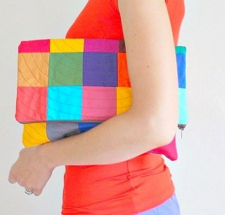 Patchwork Clutch Tutorial