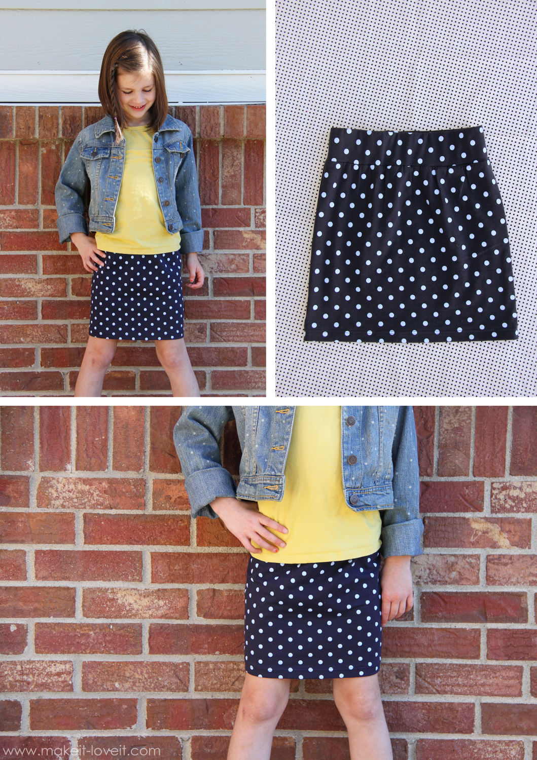 For those times when you need a quick-sew project, Make It Love It offers this super fast 30-minute tube skirt that's great for beginners. -Sewtorial