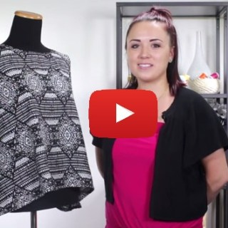 Online Fabric Store shows how to make a simple sleeveless top that's perfect for warm weather or layered underneath a jacket for cooler temperatures. Sewtorial