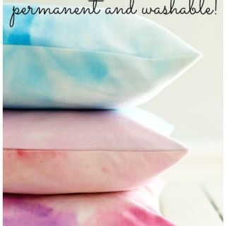 How to Watercolor Fabric