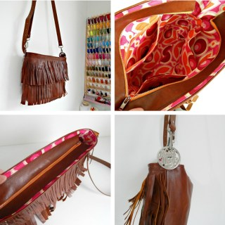 Boho Fringe Bag Tutorial