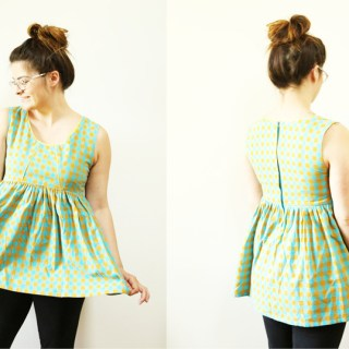 Learn how to gather fabric without a special sewing foot with this tutorial by Karen LePage for Gentle Clothing (for Sew Mama Sew). -Sewtorial