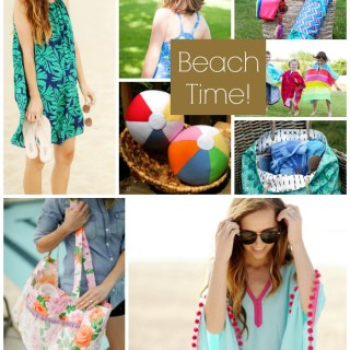 Enjoy beach time with these 8 popular warm weather projects for the family. -Sewtorial