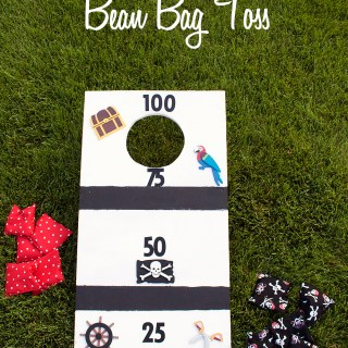 Here's an easy-to-make game that only requires a few supplies. This DIY Bean Bag Toss shared on Make It Love It is perfect for all ages. - Sewtorial
