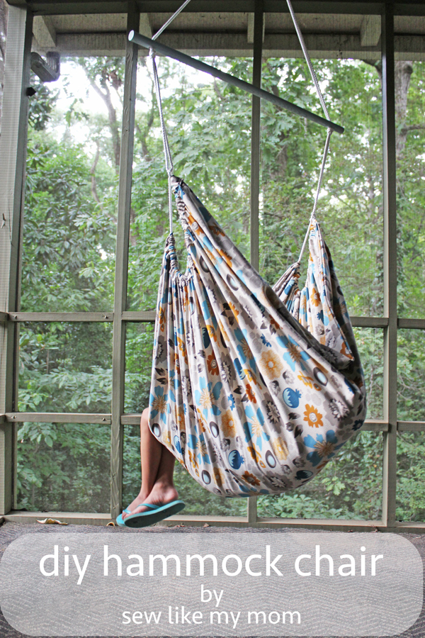 Attrayant Lazy Days Are The Best, Especially When You Can Relax In A DIY Hammock Chair  Like This One From Sew Like My Mom.