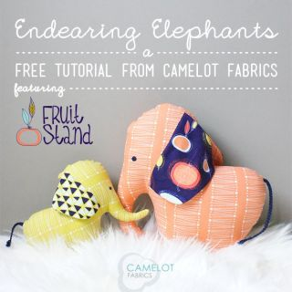 Elephant Stuffie Tutorial