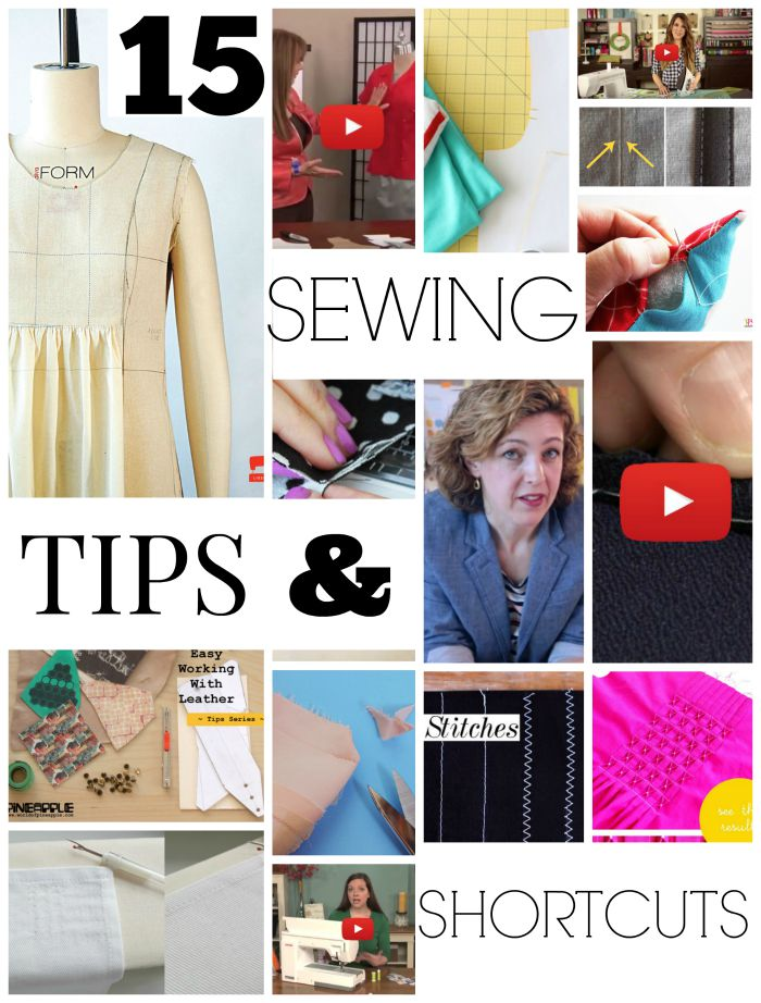 Sewing Technique Roundup