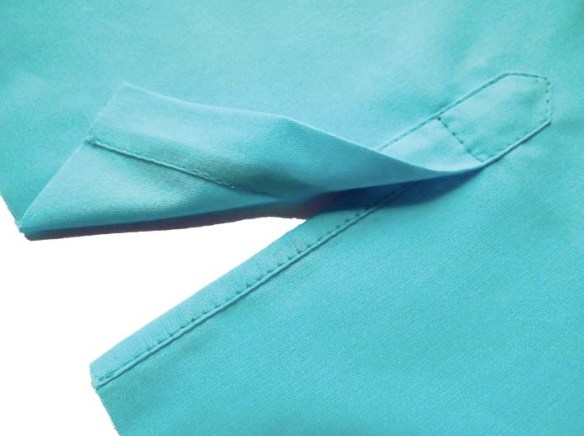 Inseam Studios shares an easy to follow tutorial on how to sew a sleeve placket in this tutorial. -Sewtorial