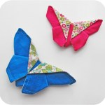 "Make something beautiful ""just because"" with this lovely fabric origami tutorial by Michelle Patterns. -Sewtorial"