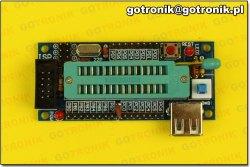 Mini moduł AVR z procesorem ATmega8