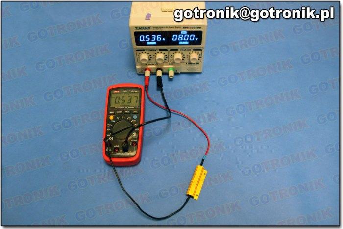Pomiar prądu DC