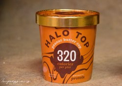 Small Of Halo Top Peanut Butter Cup