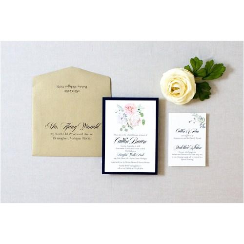 Medium Crop Of Bridal Shower Invitation Wording