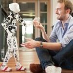 3d printable robot