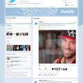 Twitter enhanced profile