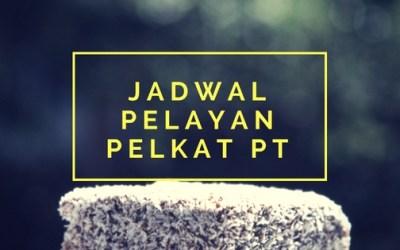 Jadwal Pelayan PT 23 Okt