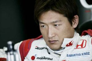 Yuji Ide at Imola. The Japanese driver struggled to acclimatise to the rigours of Formula 1.