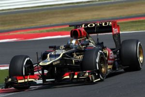 Davide Valsecchi in a rare test appearance for Lotus. The Italian was overlooked as a replacement for the injured Raikkonen, never making an F1 race. (Sam Bloxham/Lotus F1)