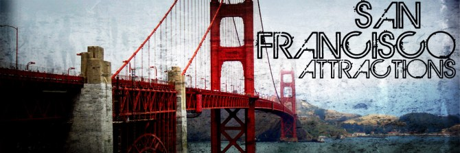 San Francisco Attractions 1024x341 Main Tourist Attractions In San Francisco To Visit