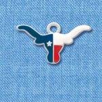 Enameled Texas Longhorn