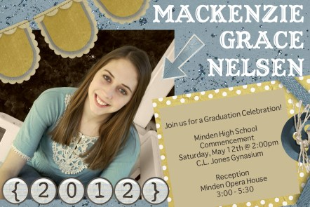 Graduation Invitation DIY