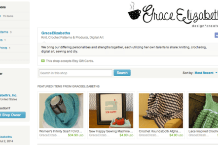 Grace Elizabeth's Etsy Shop