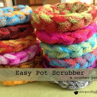 FREE Pattern: Easy Pot Scrubber