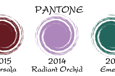Pantone color of the year for 3 years