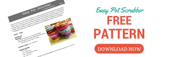 Pattern Easy Pot Scrubber