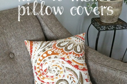 How to make pillow covers - Grace Elizabeth's