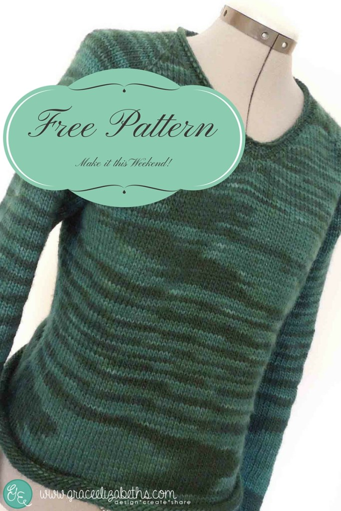 Easy No-Nonsense Sweater Pattern