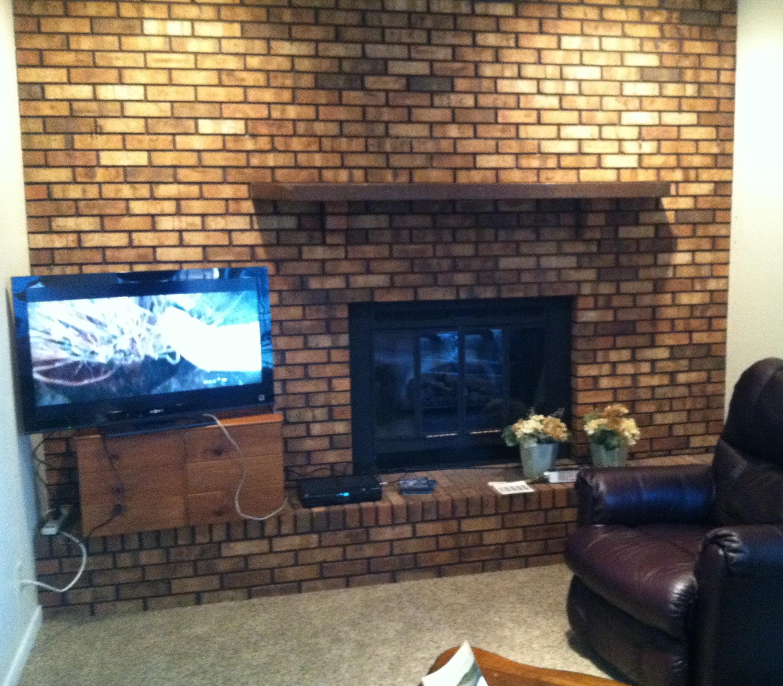 fireplace diy whitewash brick grace elizabeth u0027s