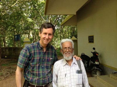 May 15: John with GCI co-founder, Professor P.P. Thomas
