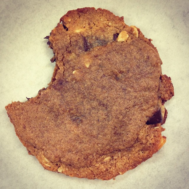 Paleo cookie from Honey + Soul Baking Co.