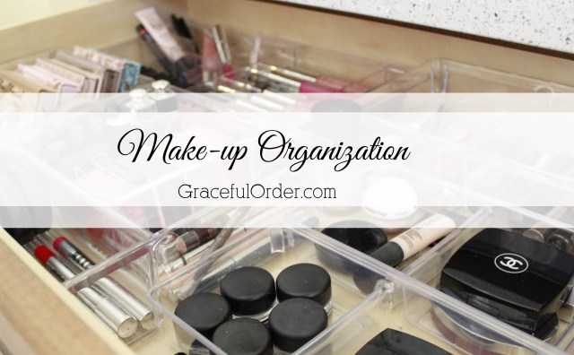 Organizing your makeup