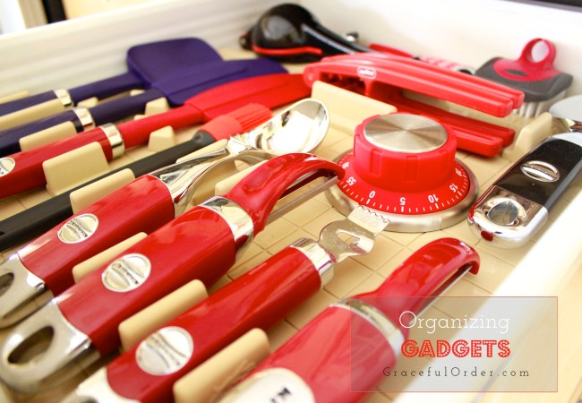 Gadget Drawer Organization