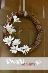 Making simple wreaths
