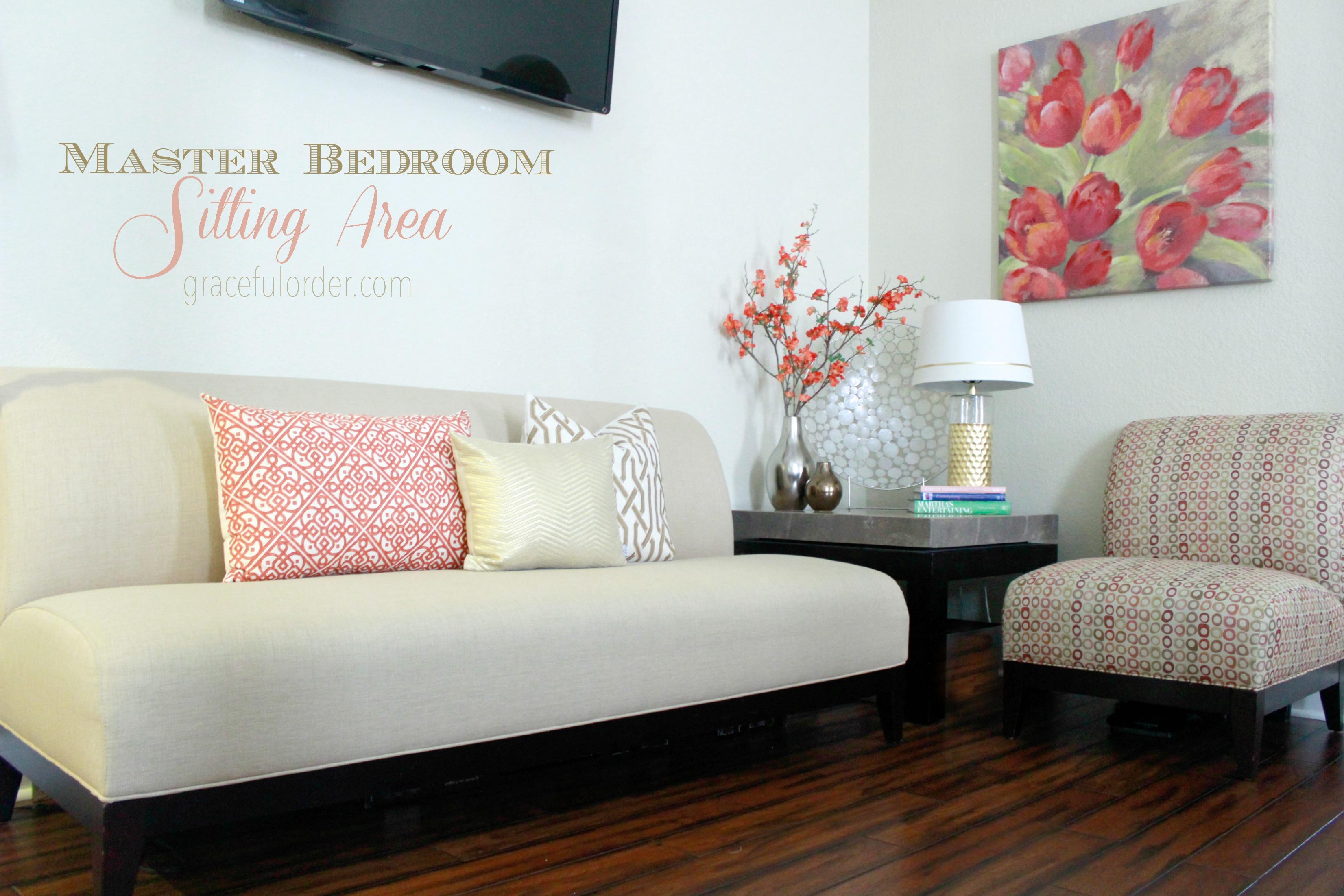 Master Bedroom Sitting Area - Graceful Order