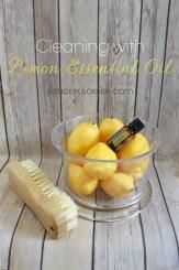 Lemon Oil Cleaning