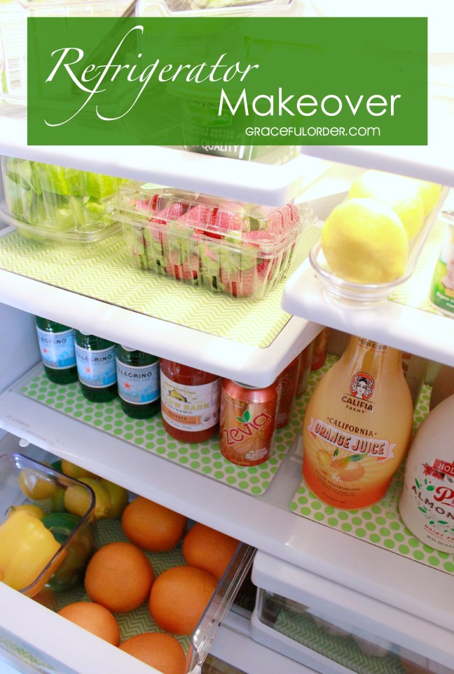 Refrigerator Makeover and a Giveaway