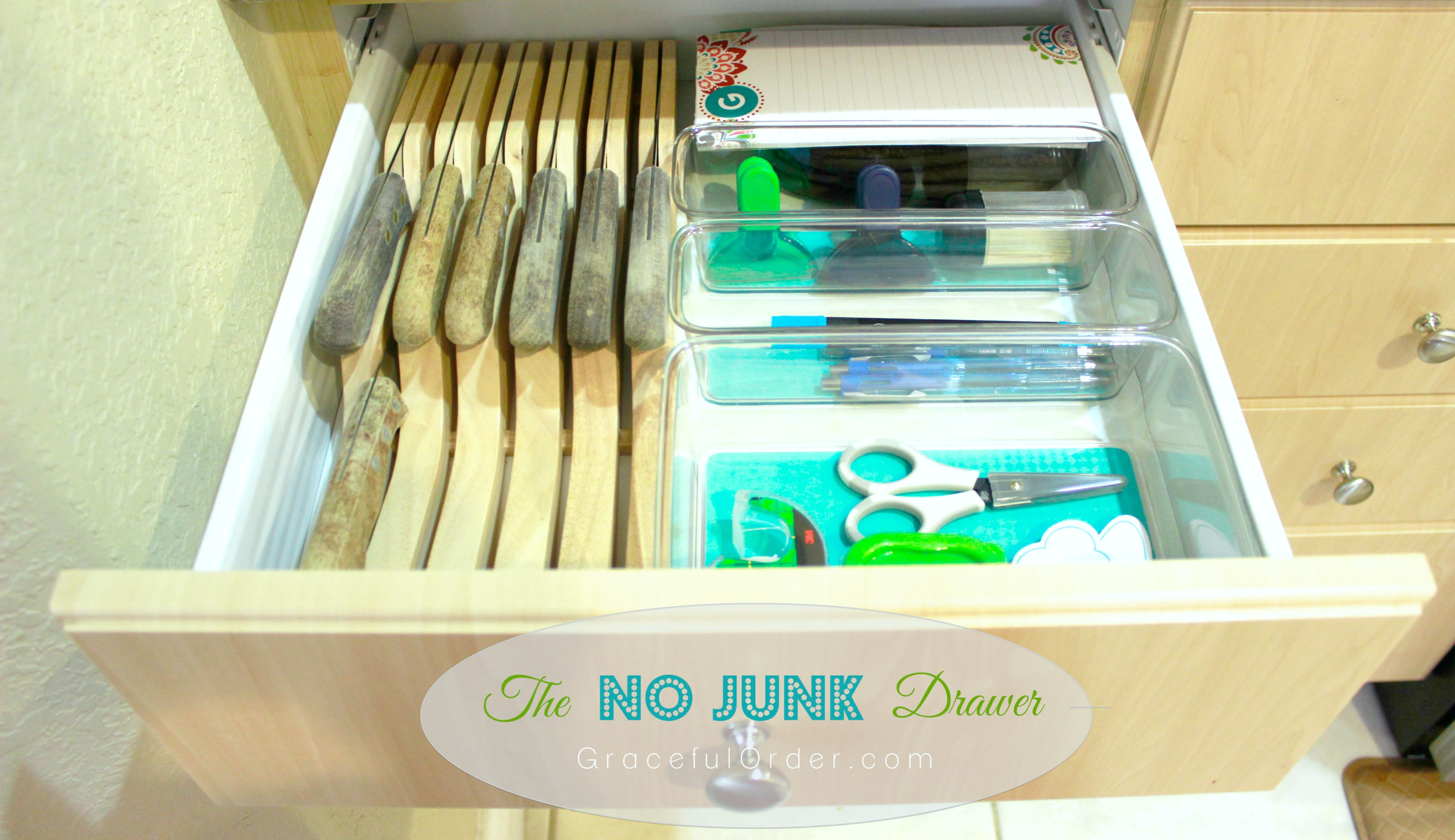 Organized Home   Kitchen Cabinets And Drawers