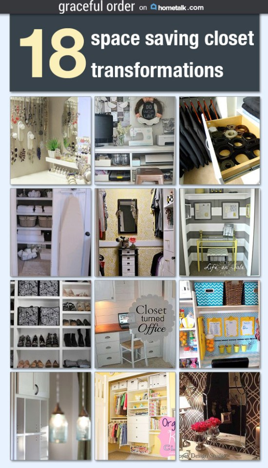 Space Saving Closet Transformations
