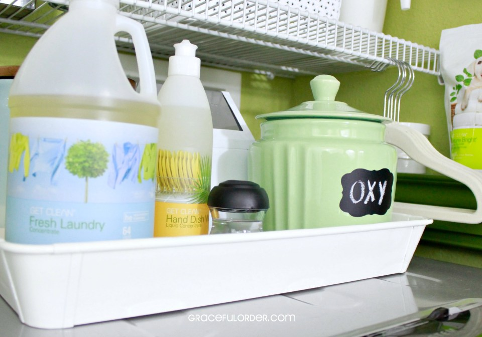 Organized Home Week 7 - The Laundry Room