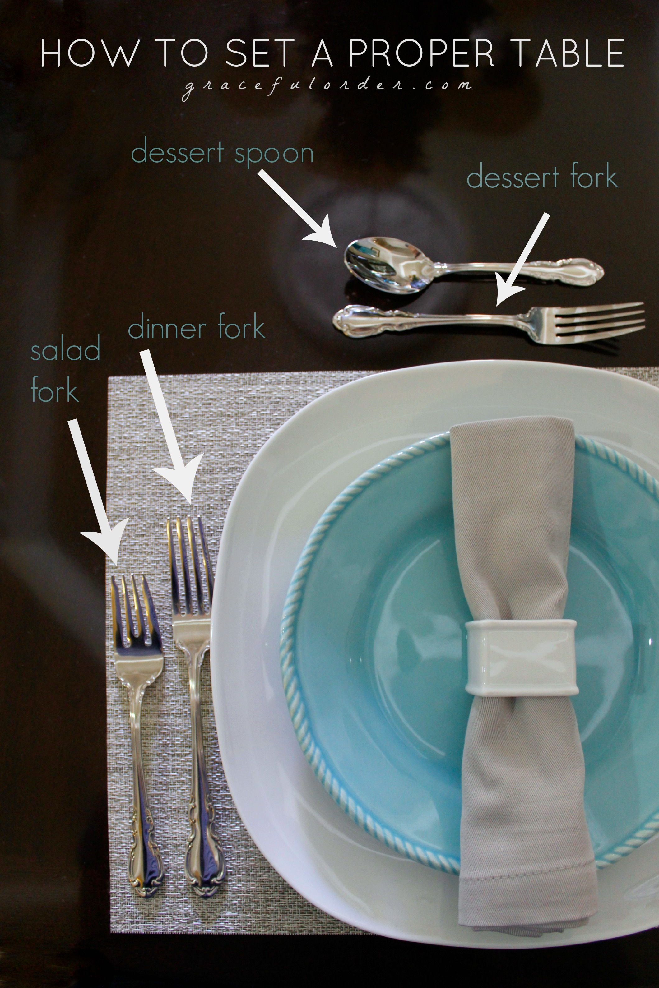 Setting A Proper Table Part - 44: How To Set A Proper Table Setting