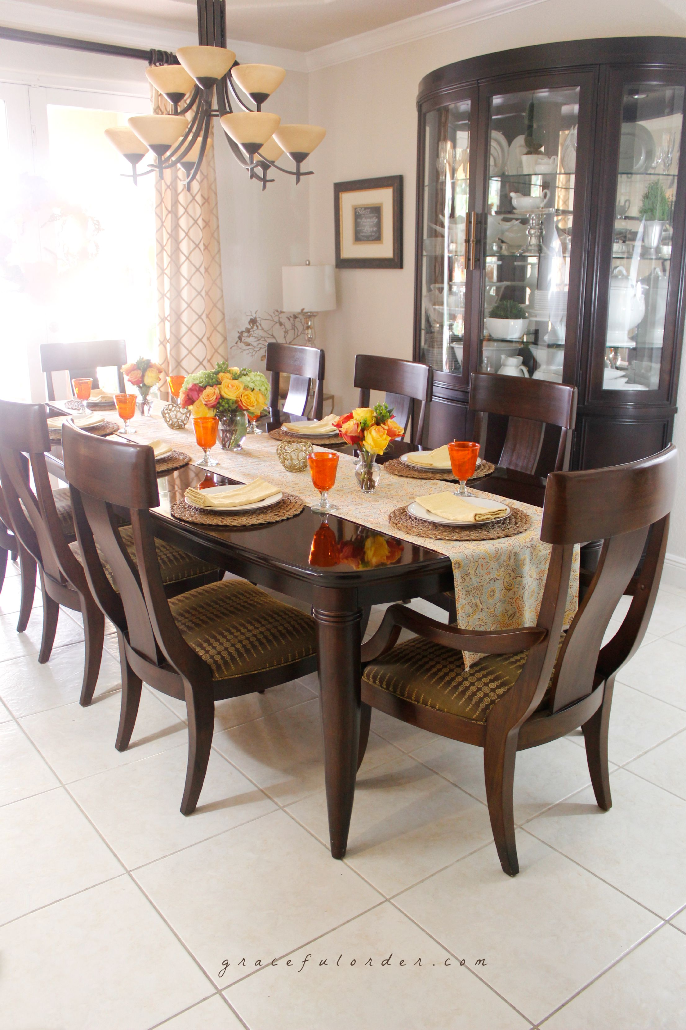 Fall Kitchen Decorating Thanksgiving Table Archives Graceful Order