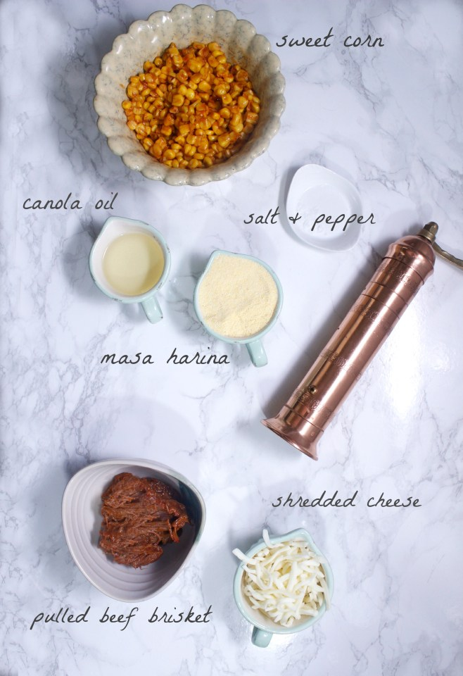 BBQ Corn Cakes