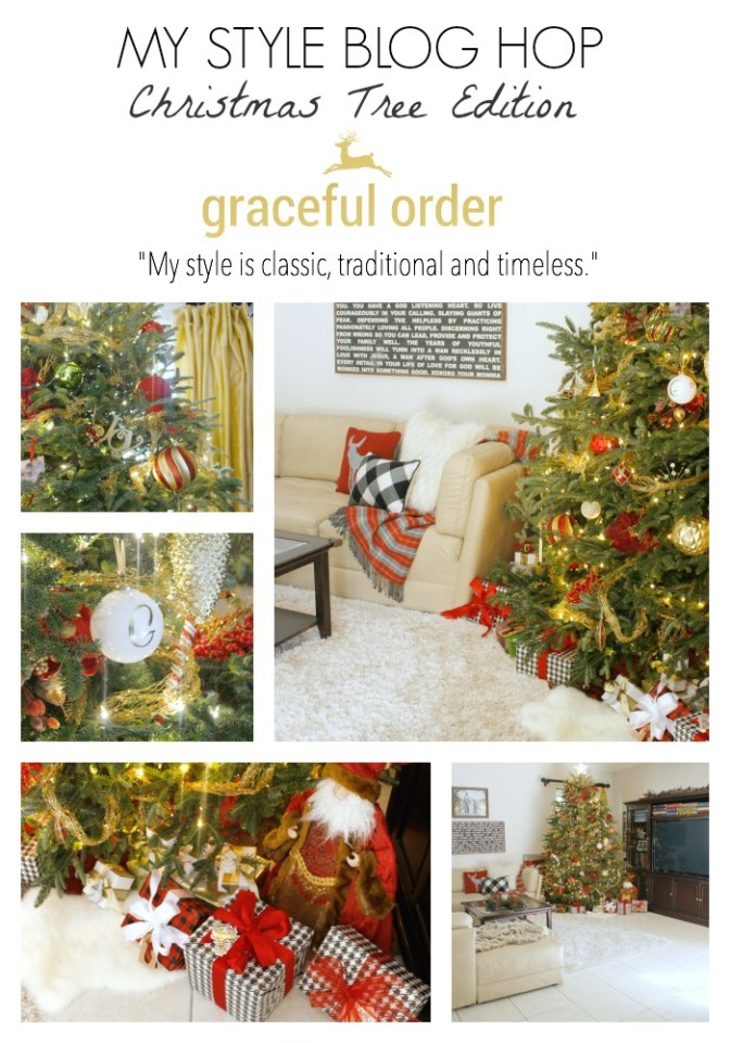 My Home Style Blog Hop: The Christmas Tree