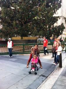Me & Miss M at Rockefeller Center